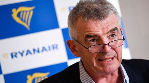 Michael O'Leary told German business daily Handelsblatt that fewer staff would be required over the winter months