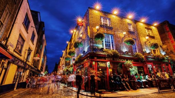 On a pub crawl through Dublin (iStock/PA)