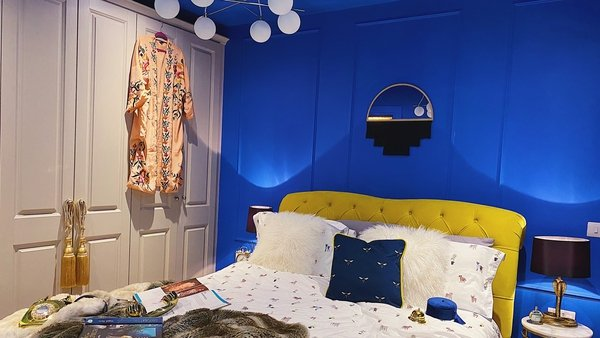 Jen Connell reveals her bold and glamorous guest bedroom revamp.
