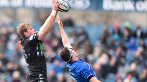 Jonny Gray in action for Glasgow