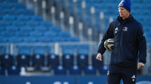 Leo Cullen may have to get used to the sight of empty rugby stadiums