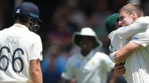 England captain Joe Root was dismissed for 35