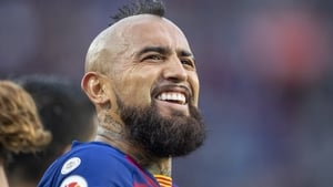 Arturo Vidal has started only four La Liga games this season