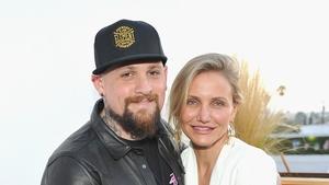 Cameron Diaz with husband Benji Madden
