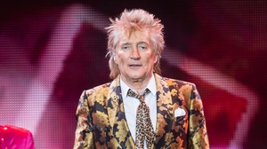 Rod Stewart is known for hits including Maggie May