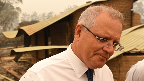 Scott Morrison has faced criticism over his handling of the crisis