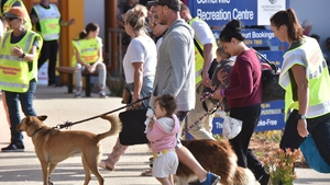People and their pets were evacuated from Mallacoota