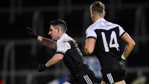 Daryl Branagan celebrates his goal