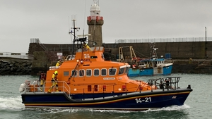 The Dunmore East lifeboat was launched in the operation (File pic)