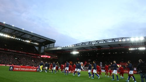 Match day revenue at Anfield is up
