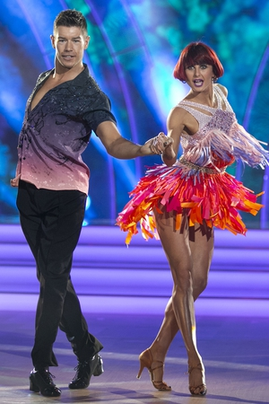 Actor Ryan Andrews with partner Giulia Gotta