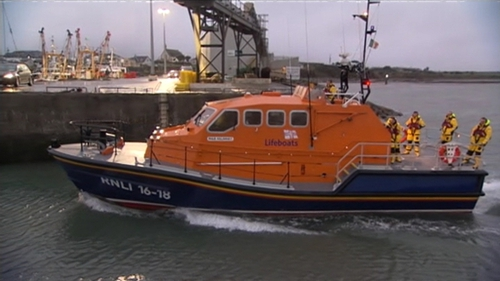 RNLI crews and other boats as well as the Coast Guard searched today for the missing man