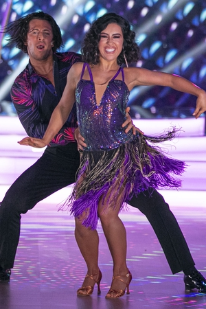 2FM Presenter Lottie Ryan and partner Pasquale La Rocca