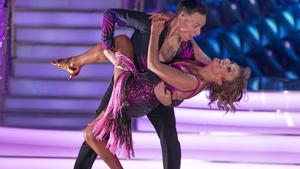 Presenter Mary Kennedy and Pro Dancer John Nolan