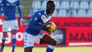 Mario Balotelli was a target for racist abuse at Stadio Mario Rigamonti