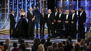 """Succession scooped the much-sought afterGolden Globe for Best TV drama. Picking up the awardcreator Jesse Armstrong said: """"It's a team show and I am here as a representative to accept it on behalf of all of us."""""""