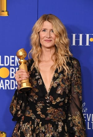 """Laura Dern won Best Supporting Actress in a Motion Picture for Marriage Story. She said: """"We long to be of service, to give voice to the voiceless, I got to do just that."""""""