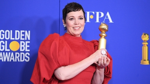 """After winning the Best Performance by an Actress in a Television Series - DramaOlivia Colman said: """"I had money on this not happening. For the last year I feel I've been living someone else's life and now I feel I've won someone else's award."""""""