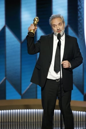 """Sam Mendes scooped the Best Director prize. He said: """"That is a big surprise. There is a not a director in this room, not in the world, that is not in the shadow of Martin Scorsese."""""""