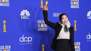 Awkwafina is the 2020 Golden Globe winner for Best Actress in a Motion Picture - Musical or Comedy. She is the first Asian woman to win in that category.