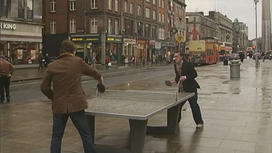 O'Connell Street Table Tennis