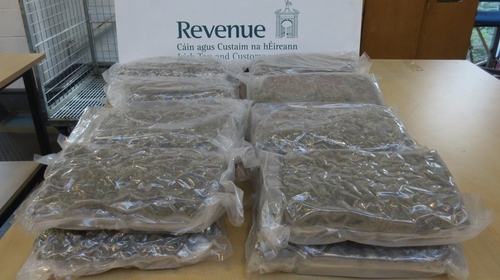 The drugs arrived in parcels from the US and Spain