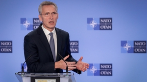 Jens Stoltenberg called for a de-escalation of tensions, echoing the statements of some European leaders