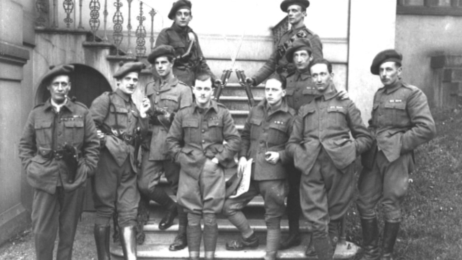 Who were the Black and Tans and the Auxiliaries?