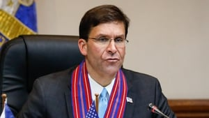 Mark Esper said there had been no plans issued for troops to prepare to leave Iraq