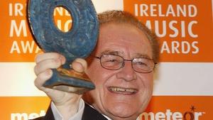 Larry Gogan at the Meteor Ireland Music Awards 2007