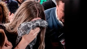 The young woman claimed she was raped by up to 12 Israeli tourists