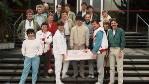 RTÉ Radio 2's fifth birthday in 1984
