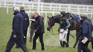 Altior was beaten for the first time in November