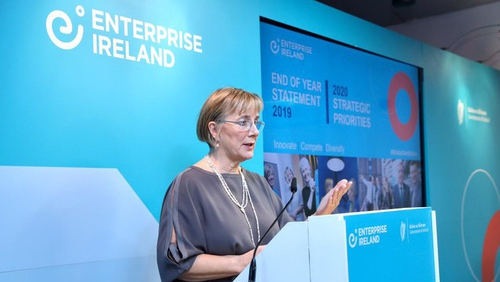 Julie Sinnamon, CEO of Enterprise Ireland, warns that  the second half of 2020 is expected to be one of the most challenging facing Irish businesses in recent history