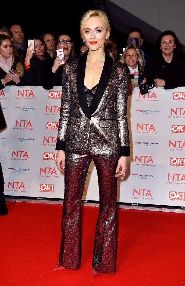 Fearne Cotton attending the National Television Awards 2018 held at the O2 Arena, London.