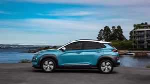 The Kona did 266 kilometres and still had 77 kilometres range left in the battery, before another charge was required.