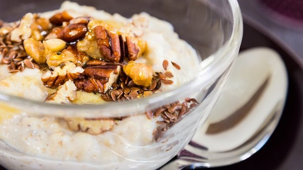 OT's honey nut porridge