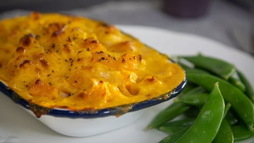 Friday's dinner recipe from Operation Transformation's vegetarian meal plan.