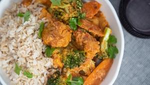 Sunday's dinner recipe from Operation Transformation's vegetarian meal plan.