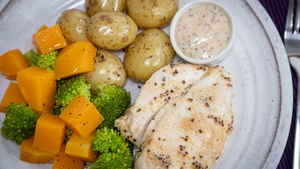 Thursday's dinner recipe from the Operation Transformation meal plan.