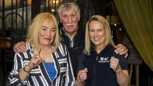 (Left to right): Kellie Maloney, John Breen and Cathy McAleer