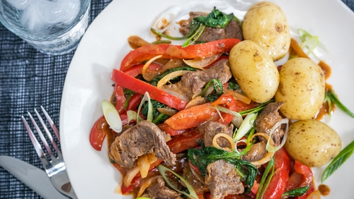 Wednesday's dinner recipe from the Operation Transformation meal plan.