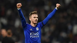 James Maddison is sticking with Leicester