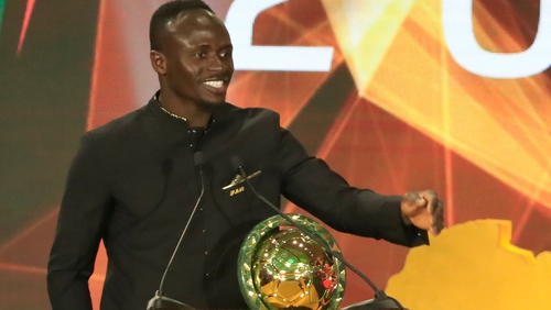 Sadio Mane Crowned 2019 CAF Footballer of the Year