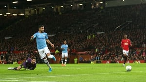 Riyad Mahrez puts City 2-0 up at Old Trafford