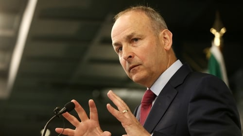 Micheál Martin said he will not agree to any change in the confidence and supply deal (Photo: RollingNews.ie)