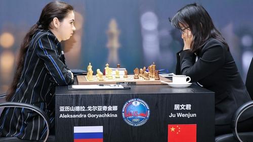 Aleksandra Goryachkina and Ju Wenjun will play for €500,000