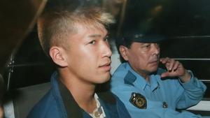 Satoshi Uematsu pictured following his arrest in 2016