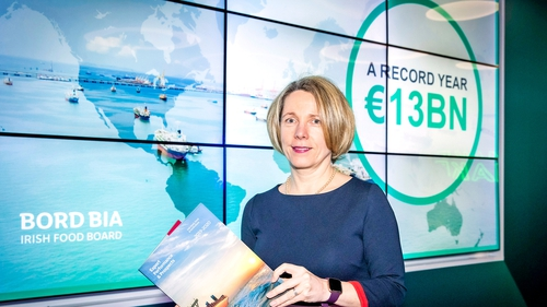 Bord Bia's chief executive Tara McCarthy