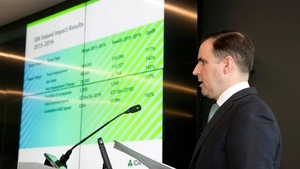 IDA CEO Martin Shanahan said client firms spent €21.5 billion here last year